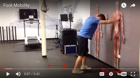 PHYSICAL FIX: FOOT AND ANKLE MOBILITY