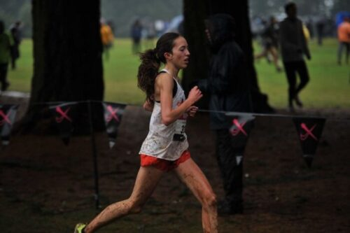 High School Cross Country Runner Cameron McConnell