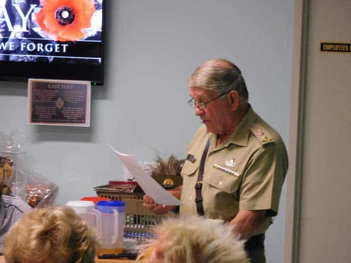 Anzac Day at Little Corner Community Cafe
