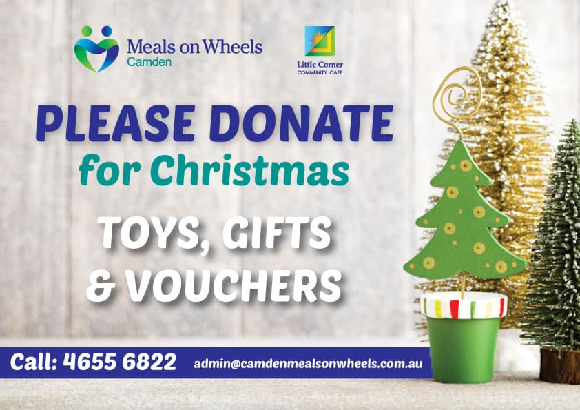 Calling for Donations Before Christmas 2017