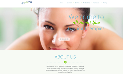 All About You Website