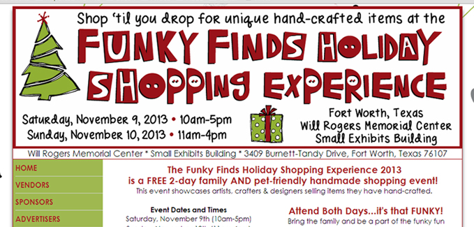 Funky Finds Shopping Experience 2013