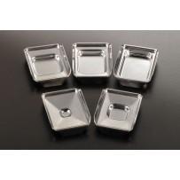 Metal Base Molds, 37mm x 24mm x 5mm, 12/cs