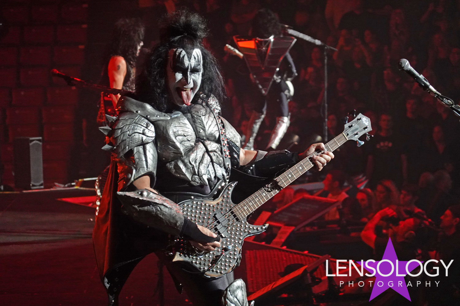 Kiss in concert, Ft Lauderdale, FL.