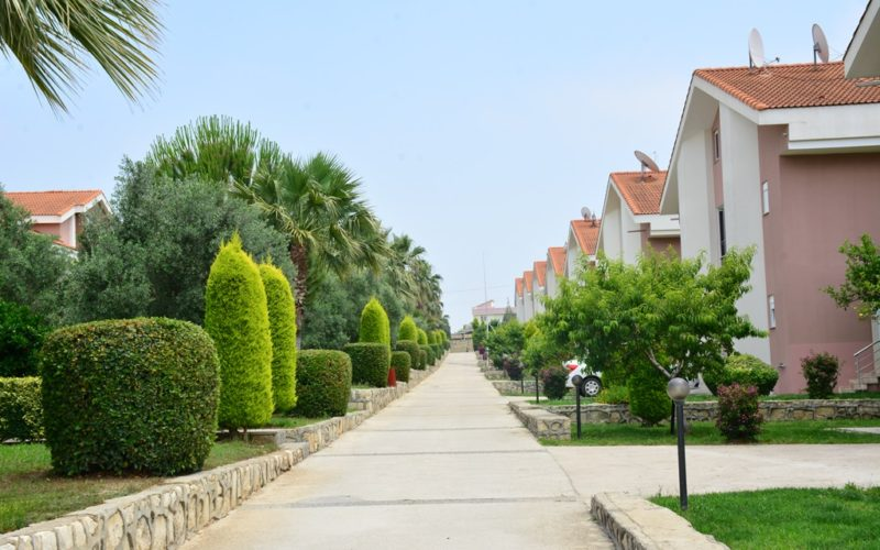 private garden villa