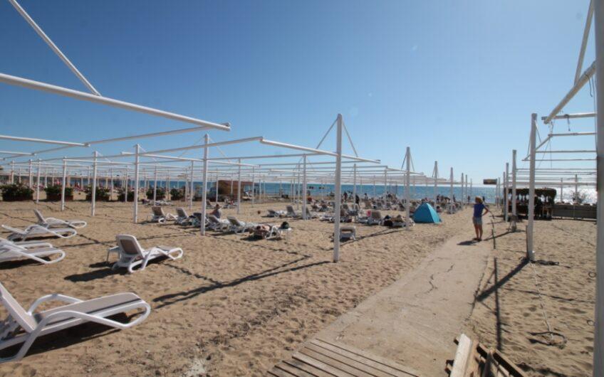 Gepflegte Haus direkt am Strand mit Pool und fantastischem Meerblick in Kumköy