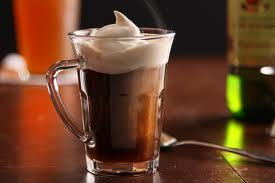Whipped Cream and Irish Coffee