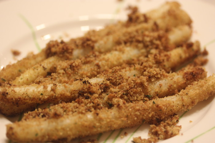 Austrian White Asparagus with Brown Butter Sauce