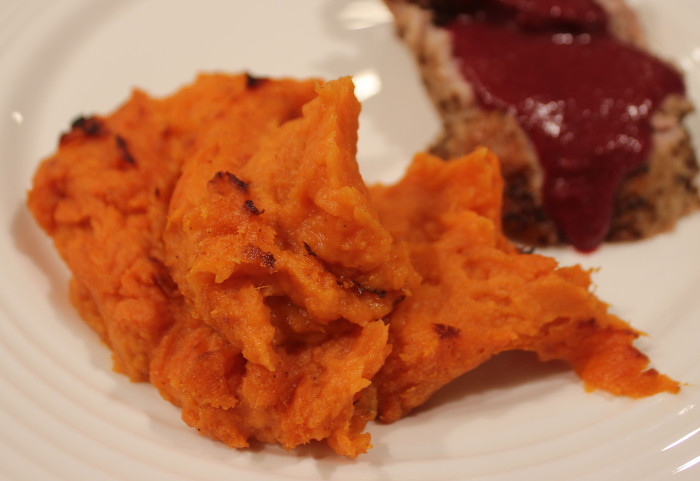 Sweet Potato Souffle from The Cast Iron Skillet