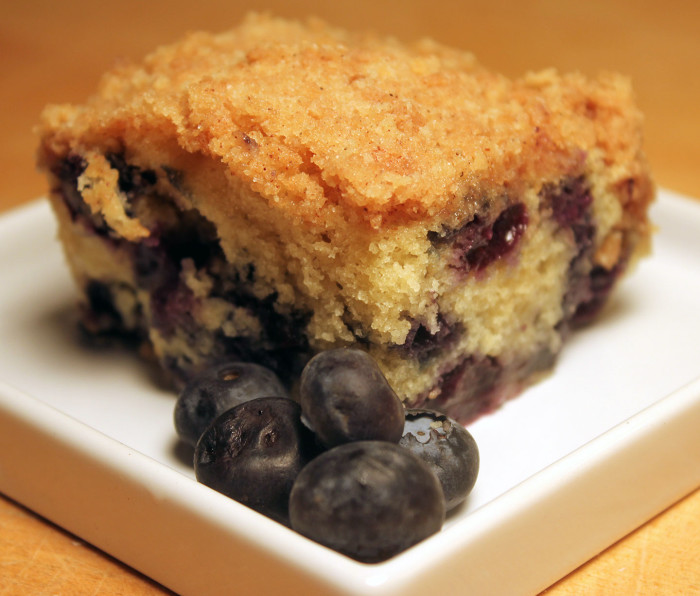 Blueberry Crumb Cake from Michele Stuart