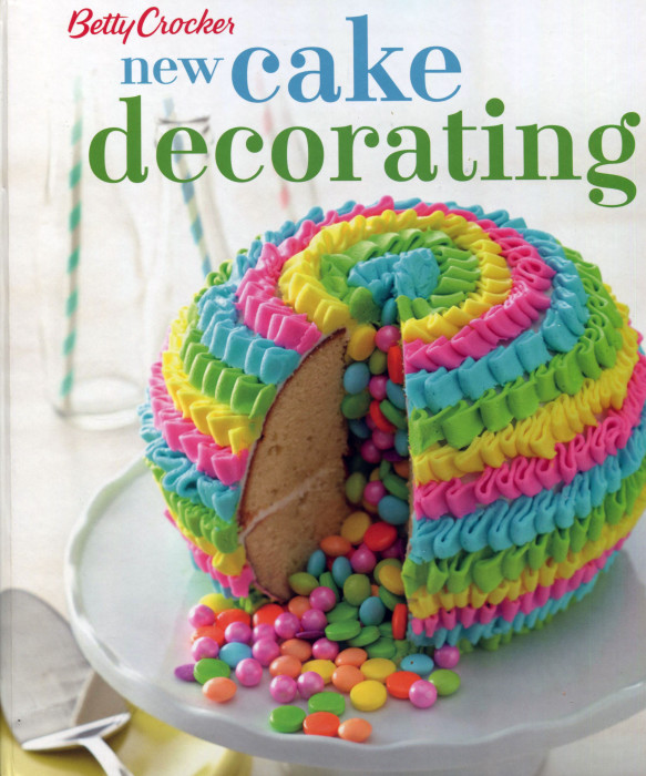 Stupendous Cookbook Review New Cake Decorating From Betty Crocker Cooking Funny Birthday Cards Online Elaedamsfinfo