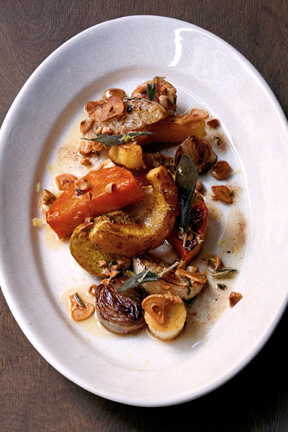 TBT Recipe: Roasted Root Vegetable Salad with Marcona Almonds
