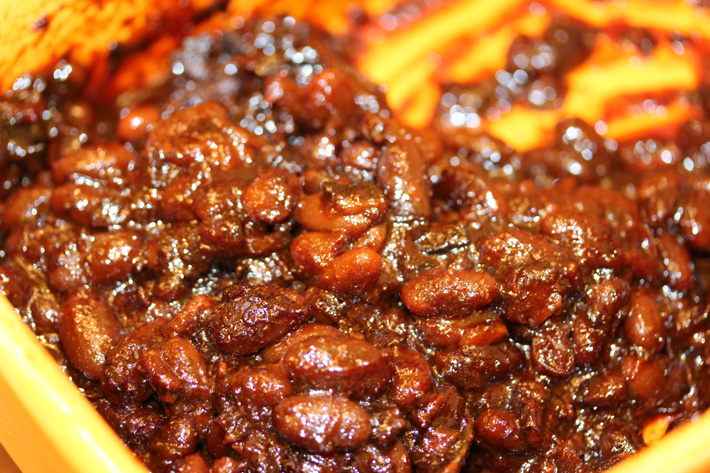 Smoked Chipotle Baked Beans