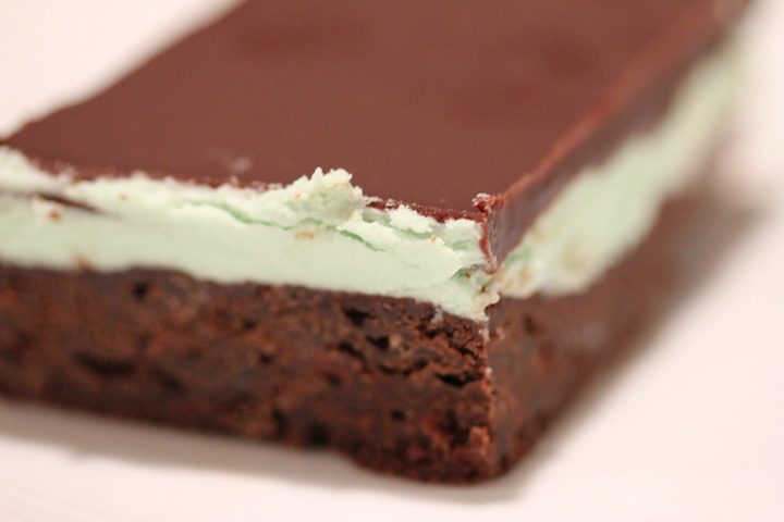 Grasshopper Bars for Lovers of Mint and Chocolate