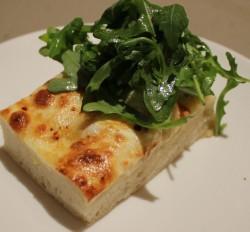 Elegant White Pizza