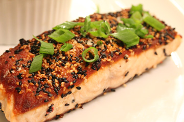 Grilled Sesame Salmon from Salted