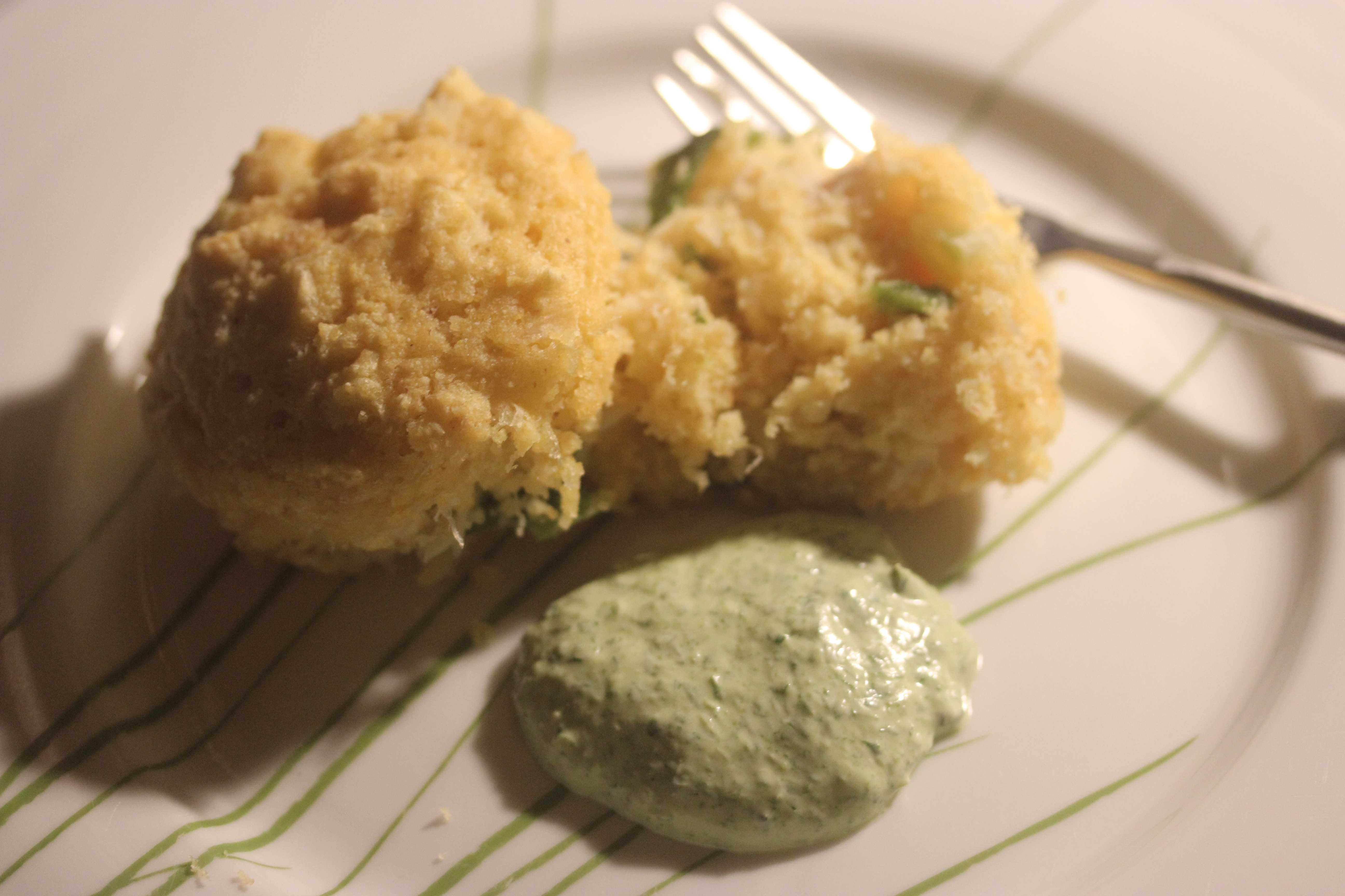 TBT Recipe: Roasted Poblano and Crab Hush Puppies