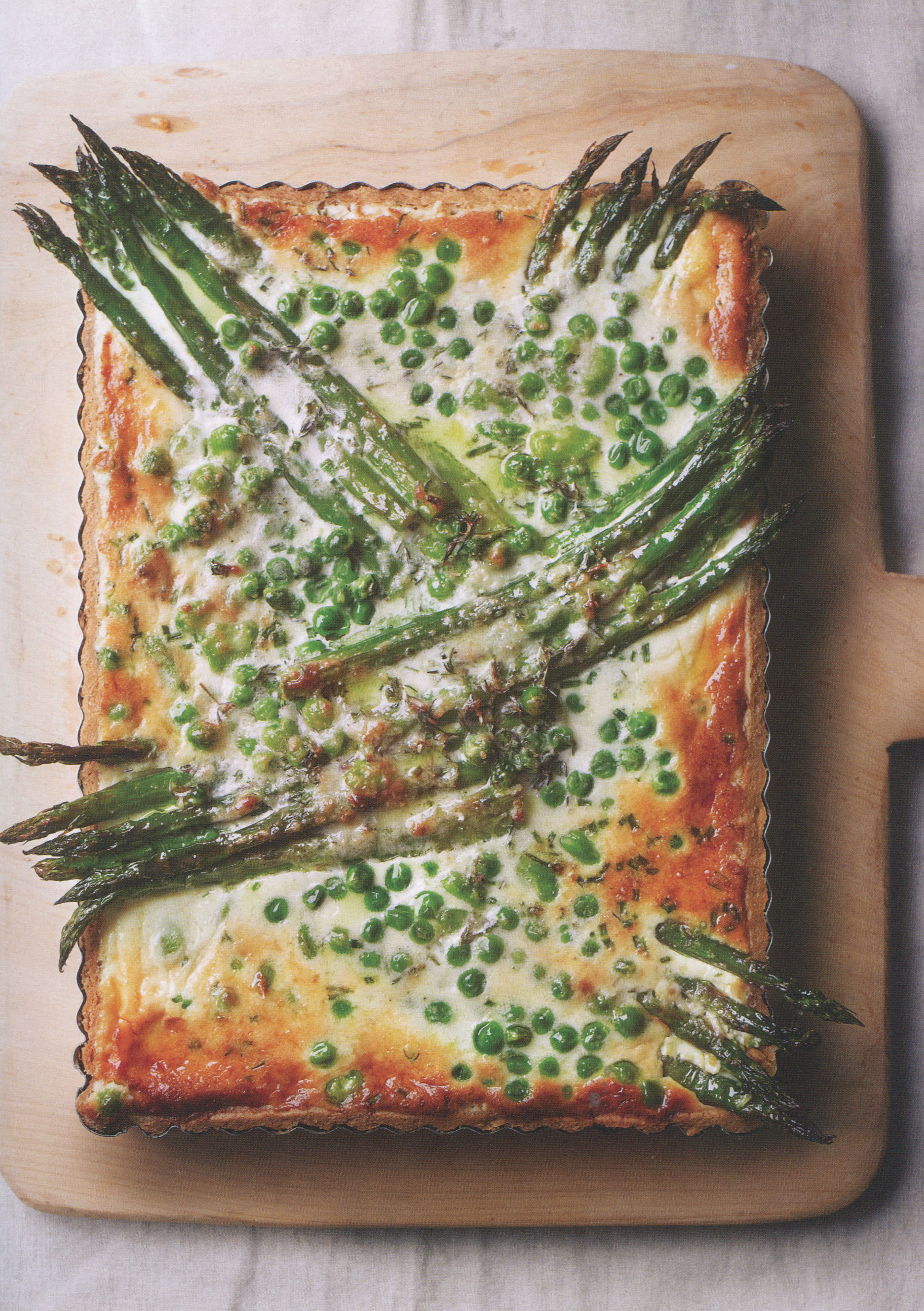 TBT Recipe: Spring Green Tart from Tart It Up by Eric Lanlard