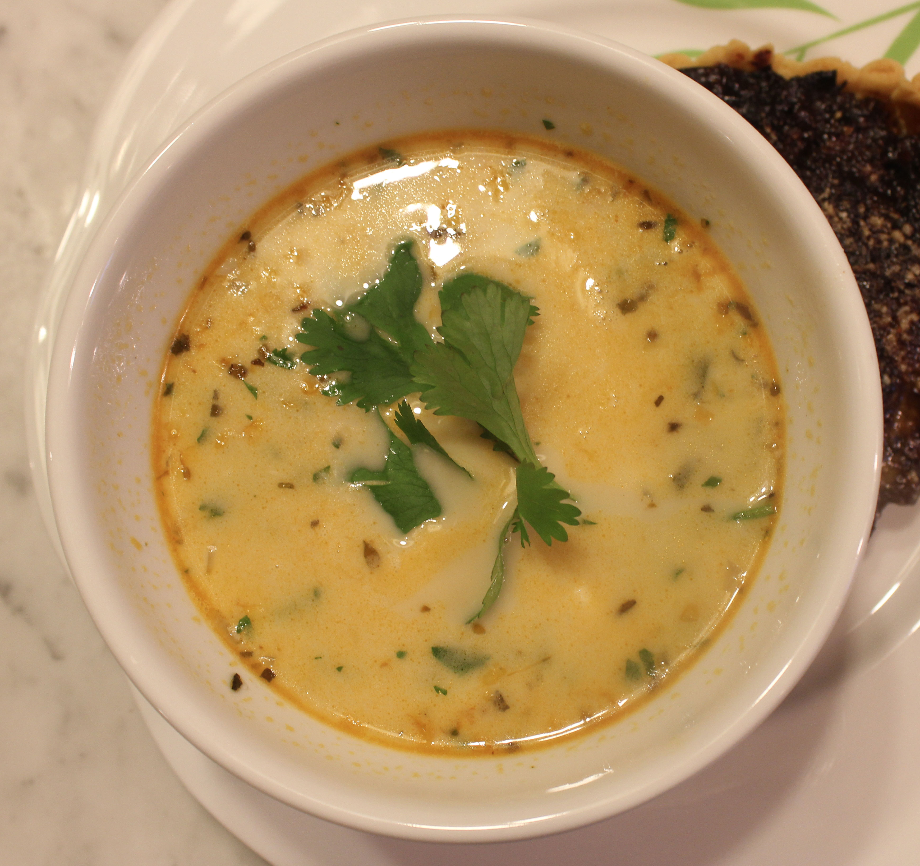 TBT Recipe: Poblano Corn Chowder