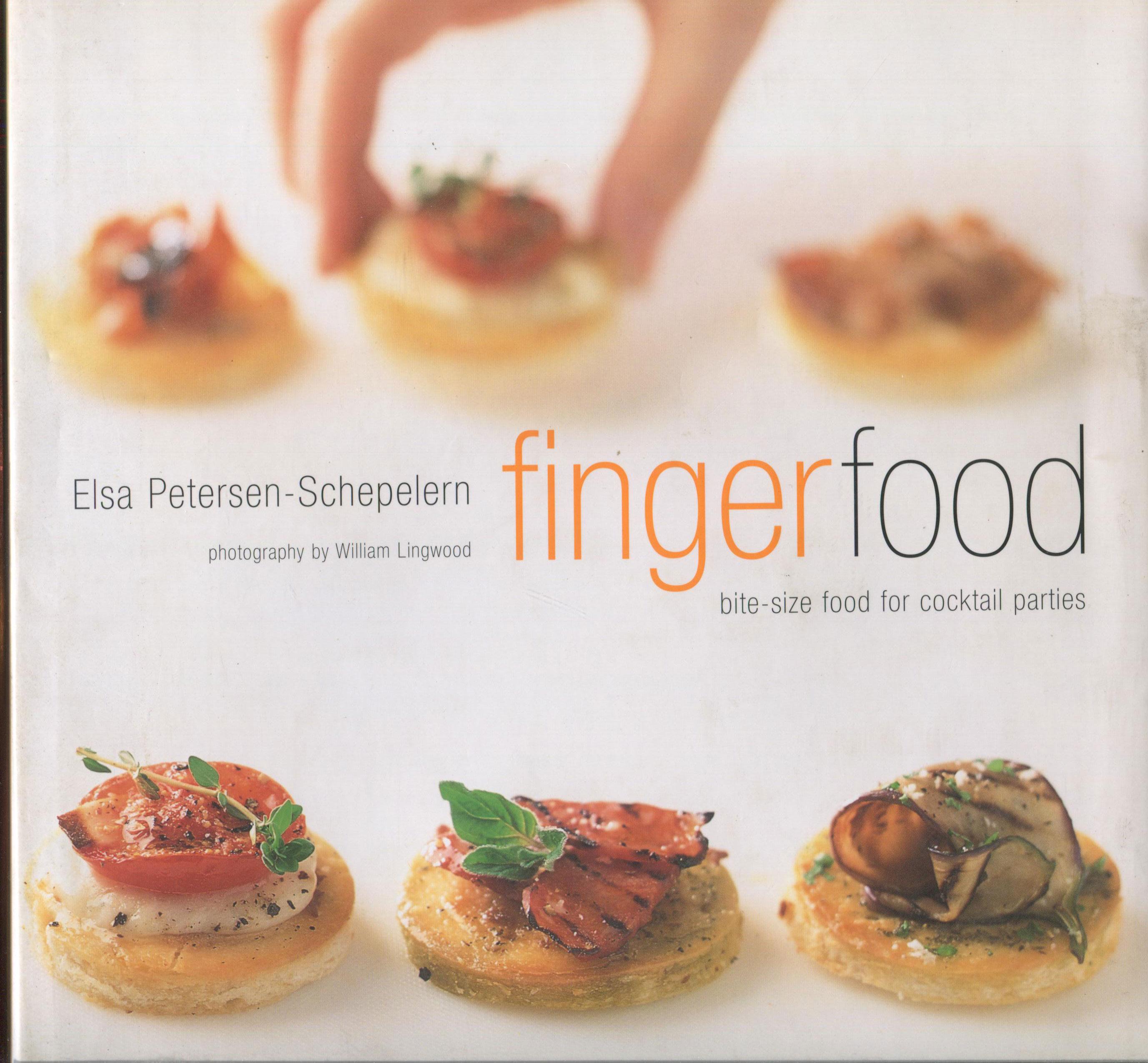 Cookbook Review: Fingerfood by Elsa Petersen-Schepelern