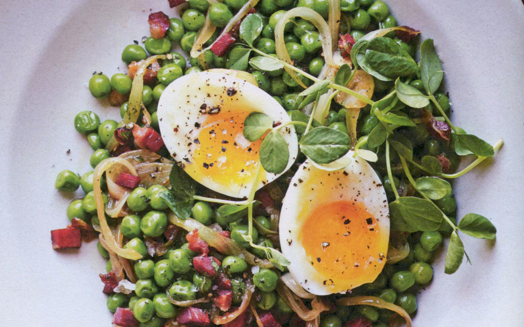 Peas, Ham & Eggs from 100 Ways with Eggs