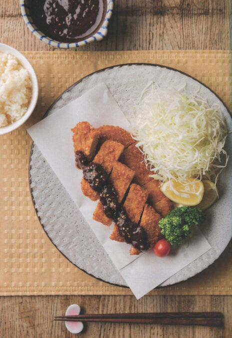 Tonkatsu and Tonkatsu Sauce form Mastering the Art of Japanese Home Cooking