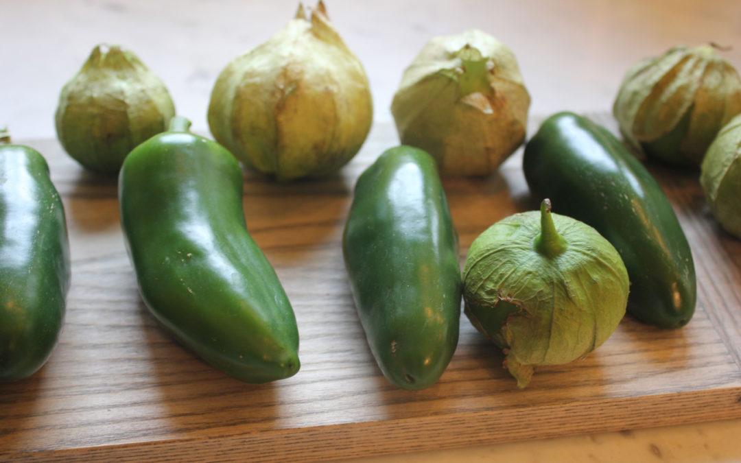 Tomatillo Salsa from Mesa Mexicano