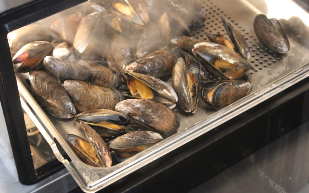 TBT Recipe: Steamed Mussels in White Wine Broth