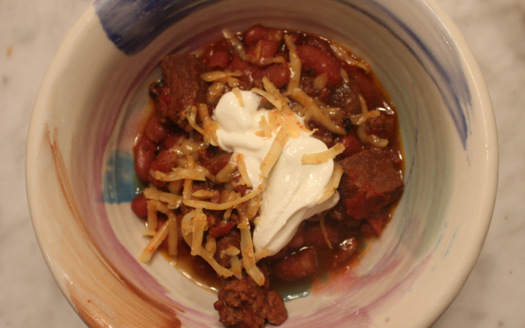 Unforgettable Beef and Bean Chili