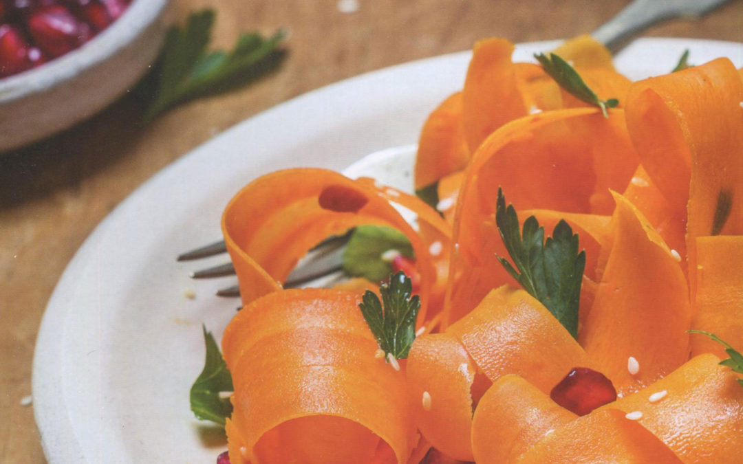 Shaved Carrots Salad from bring it! by Ali Rosen