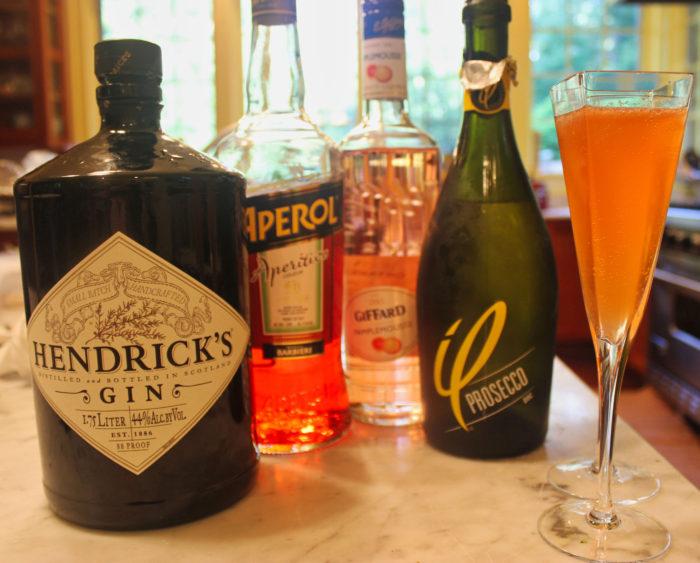 Sunshine Superman or Super Spritz Cocktail