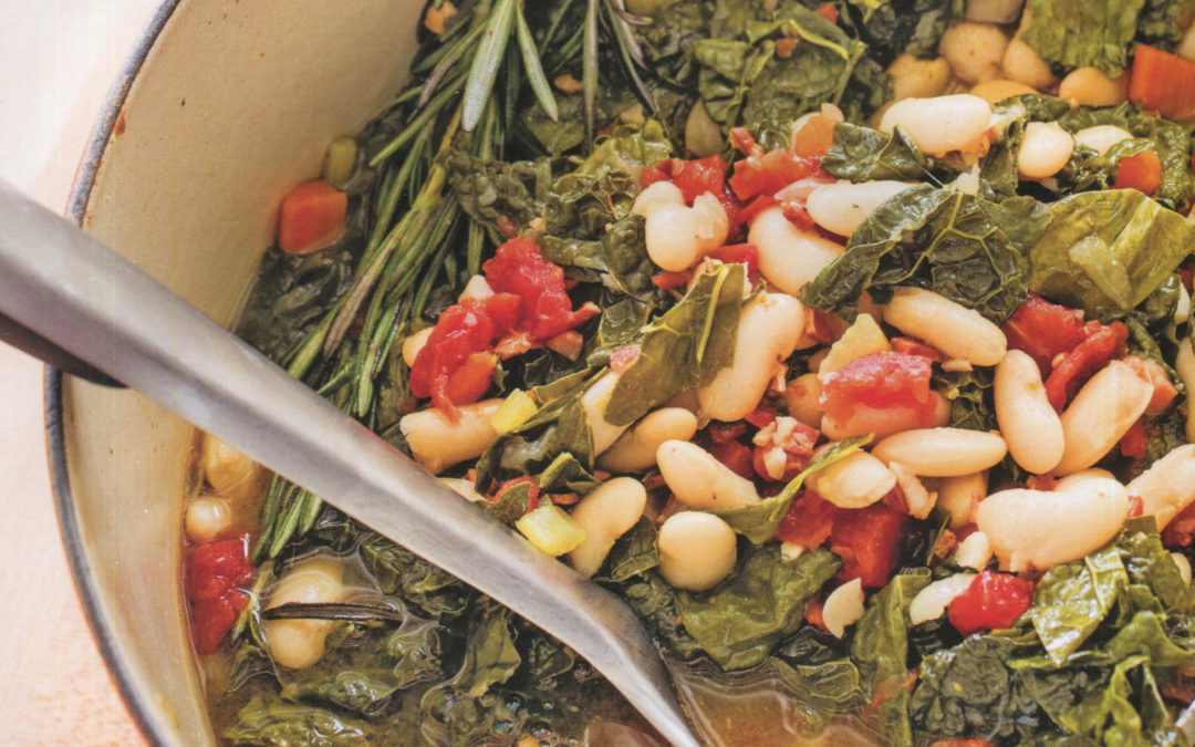 Tuscan White Bean Stew from Tasting Italy