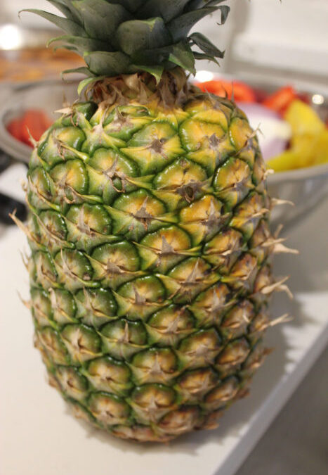 Pineapple Syrup for Cocktails