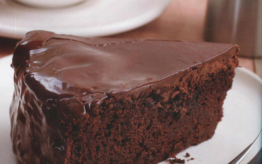 Italian Chocolate Cake [with an unusual technique]