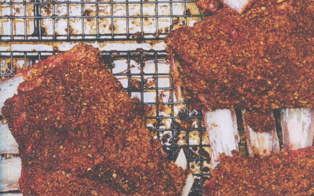 "Lamb Ribs with ""Chermoula"" and Honey from Estella by Ignacio Mattos"