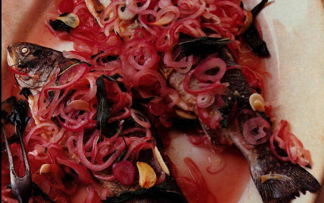 TBT Recipe: Trout Marinated with Sweet Onions from 1999
