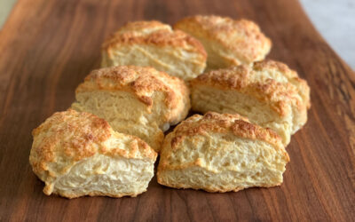 Butter-Yogurt Biscuits from Biscuit Bliss