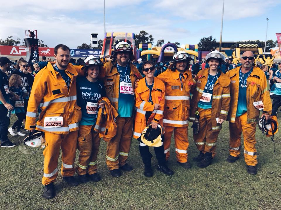 Bedfordale VFBF at HBF Run For a Reason 27-05-2018