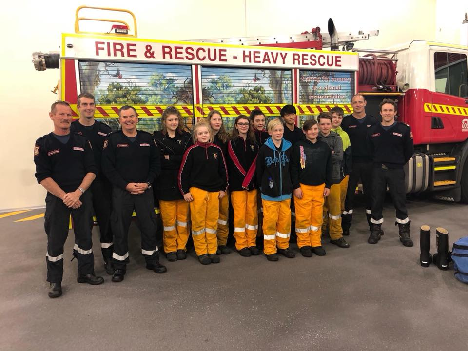 On Wednesday night we took our young firefighters of the future along to the Bunbury Fire Station to meet some of Bunbury's finest career firefighters. It was a great insight for them to see inside a 24/7 fire station, check out their trucks and hear about the life of a career fire fighter. No doubt we have a few keen young ones that will consider this as a career pathway. Photo: Facebook