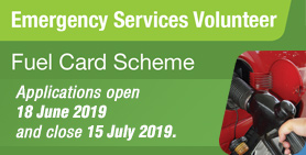ES Volunteer Fuel Card Scheme 2019 now open