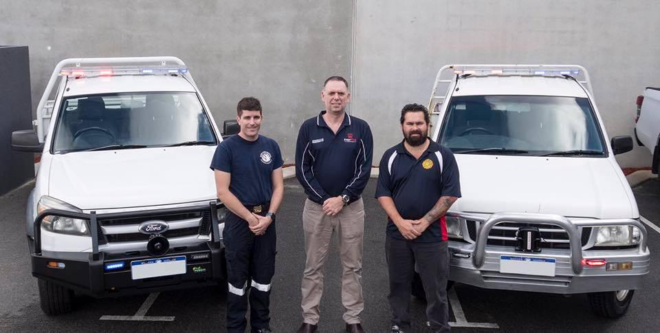 InterFire Agencies and Mandogalup Volunteer Bush Fire Brigade and Kwinana South Volunteer Bushfire Brigade