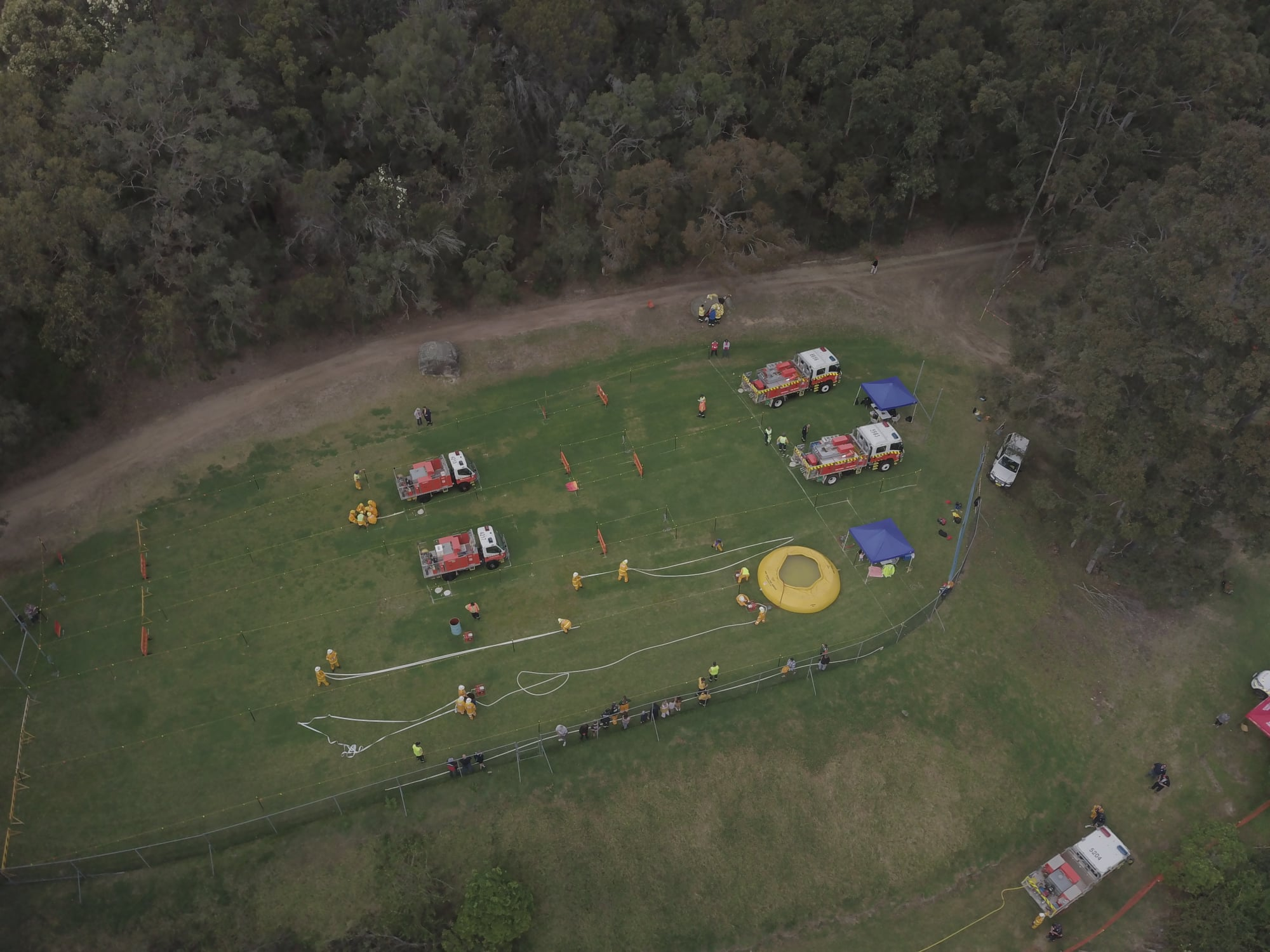 Australian Fire Cadet Championships Wesley Vision Valley October 2019 Photo: David Kissick from Berowra Waters Rural Fire Brigade