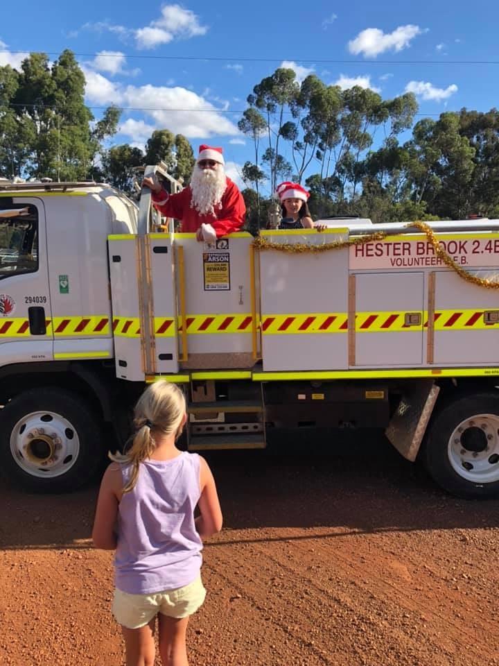 Hester Brook Volunteer Bush Fire Brigade Christmas 2019