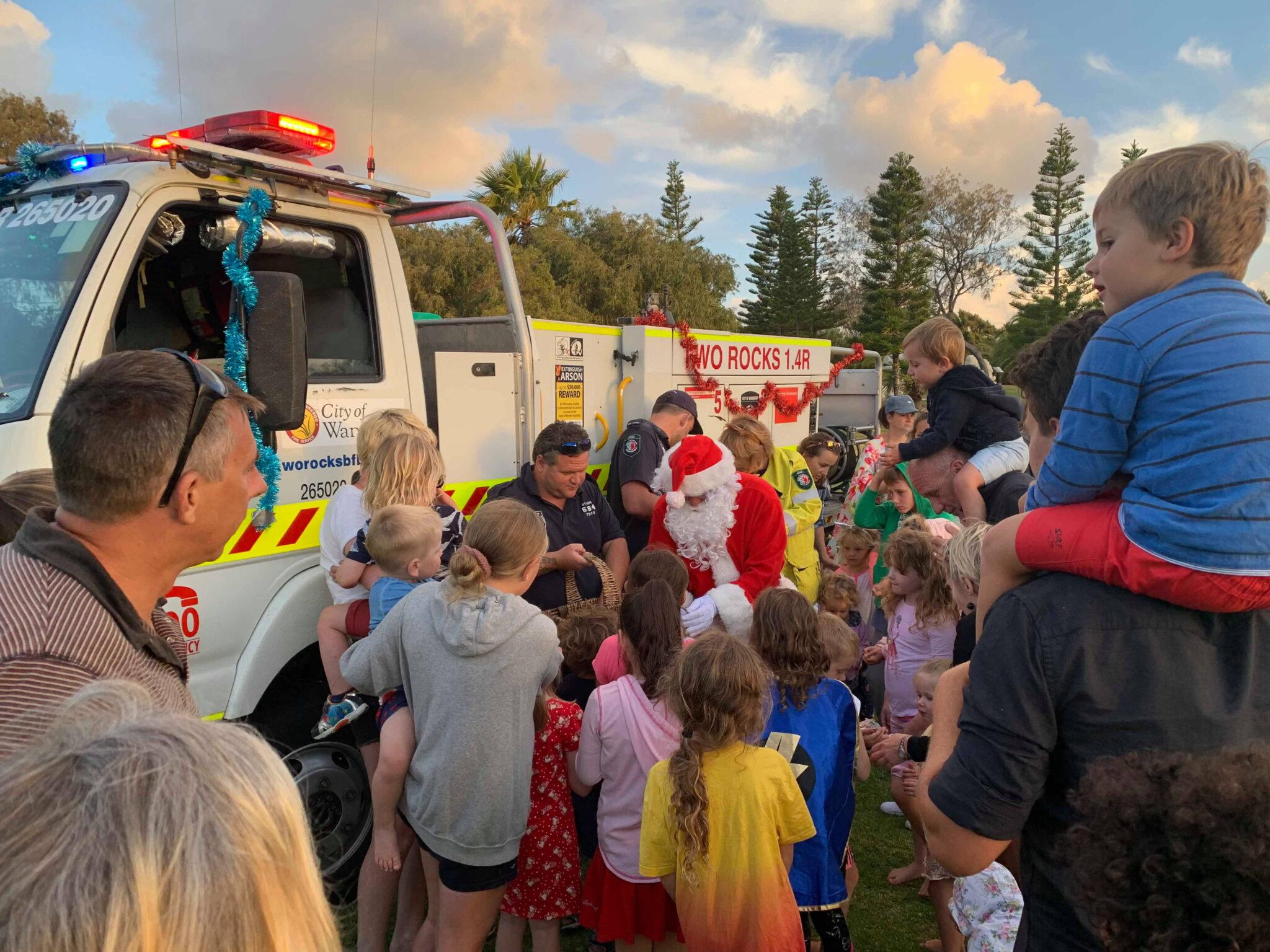 Two Rocks Volunteer Bish Fire Brigade Christmas 2019