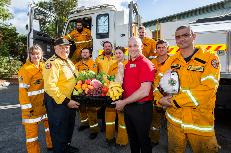 Coles says thank you to rural and bush firefighters with $3 million donation
