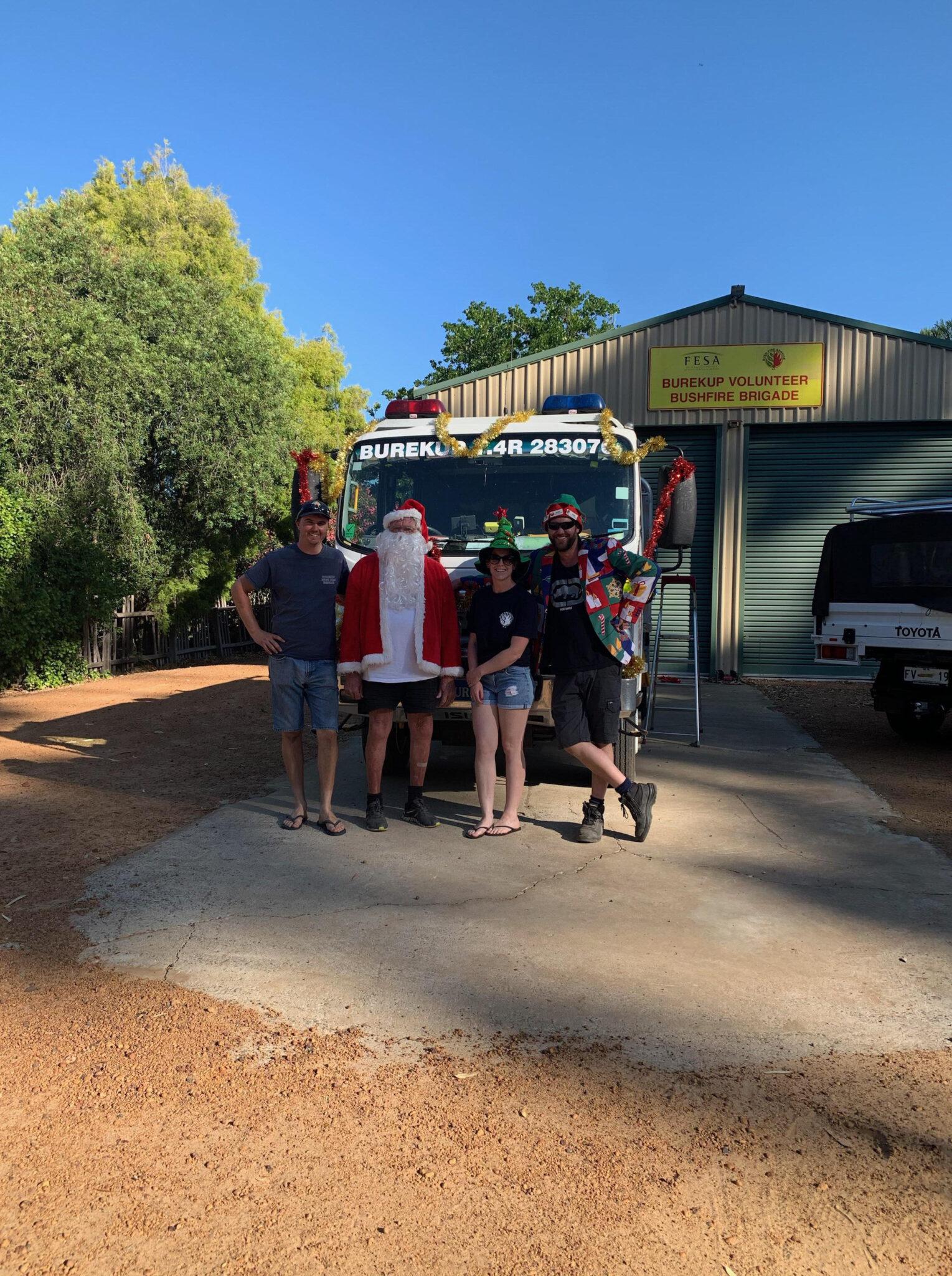 Burekup Volunteer Bush Fire Brigade Christmas 2019