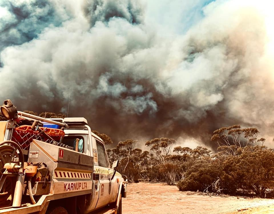 WA fire: 22 days and still out of control