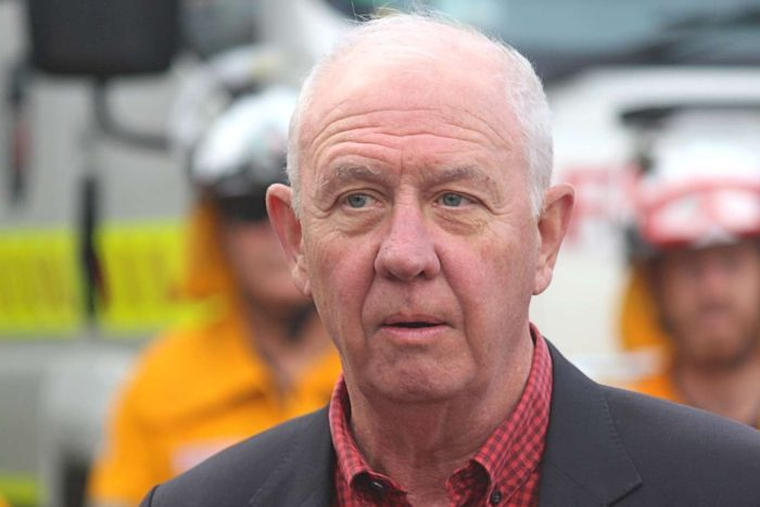 PHOTO: Emergency Services Minister Fran Logan said a multi-agency committee was responsible for assessing applications for extra firefighting equipment. (ABC News: Gian De Poloni)