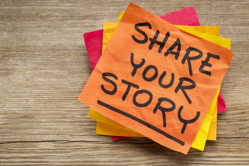 Share your story as a… female volunteer