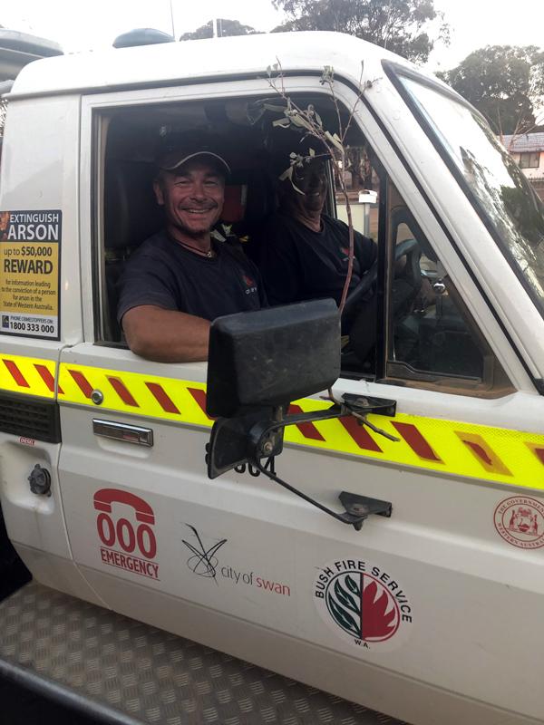 City of Swan Bushfire Volunteers Norseman WA January 2020